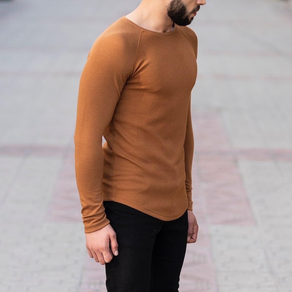 Dotwork Sweatshirt In Brown Mv Premium Brand - 3