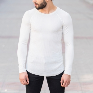 Dotwork Sweatshirt In White Mv Premium Brand - 1
