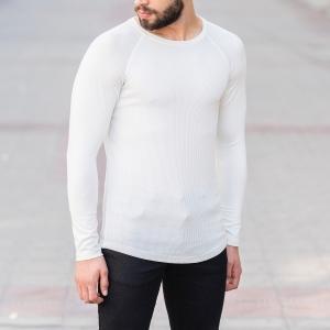 Dotwork Sweatshirt In White Mv Premium Brand - 2
