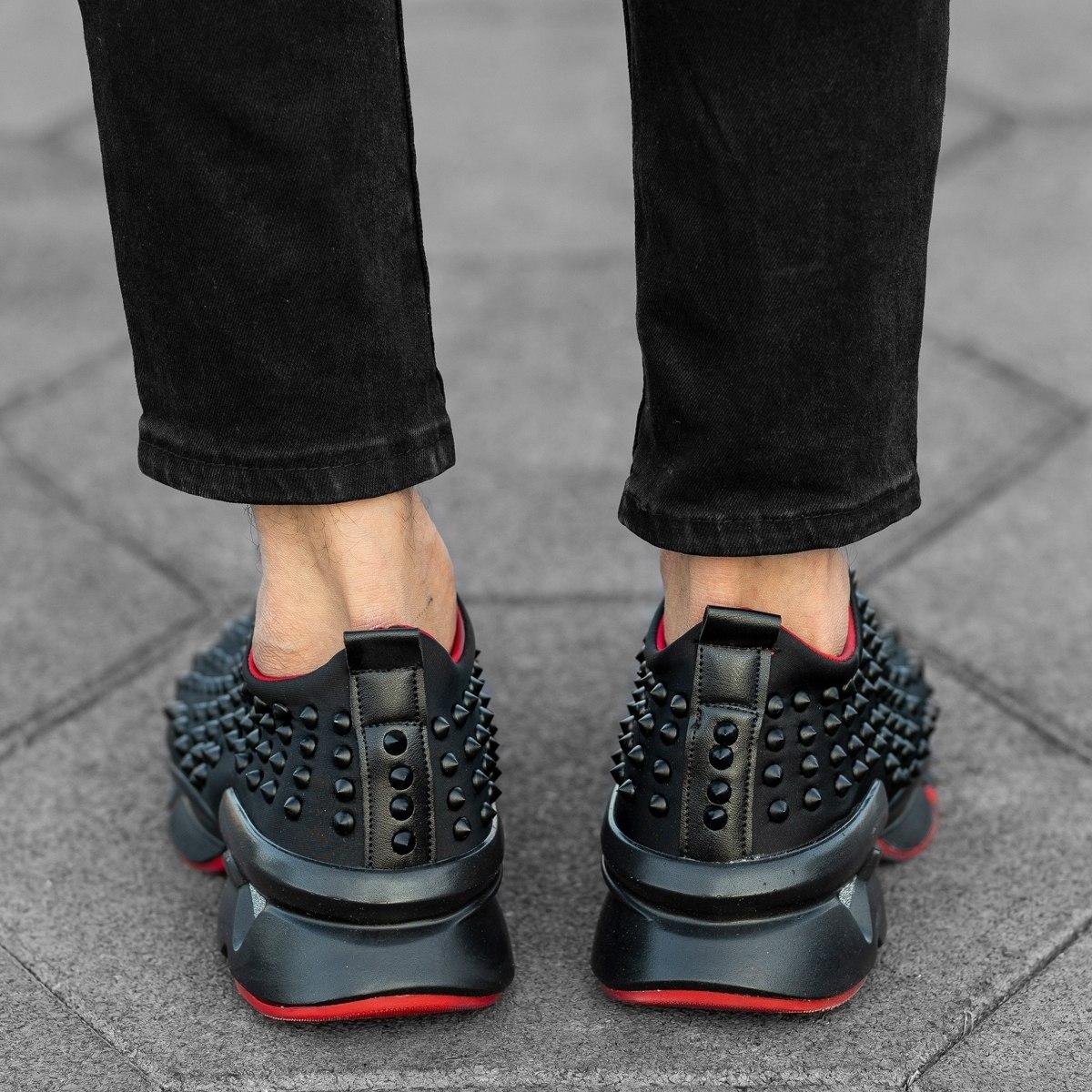 Thorn Sneakers In Black Mv Premium Brand - 4