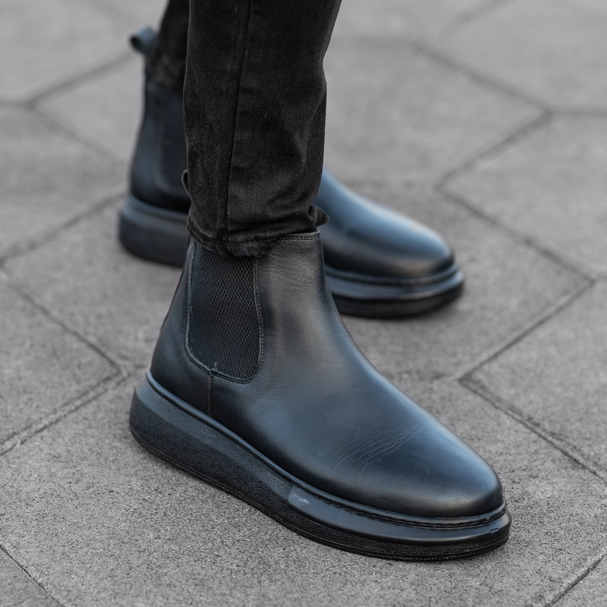 Authentic Leather Boots in