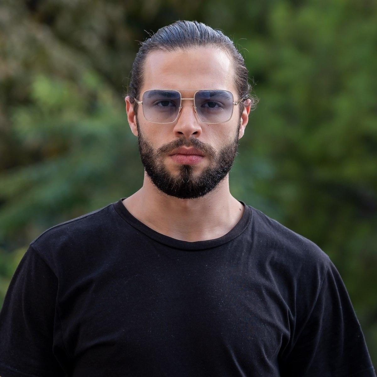 Men's Barett Black Shade Sunglasses