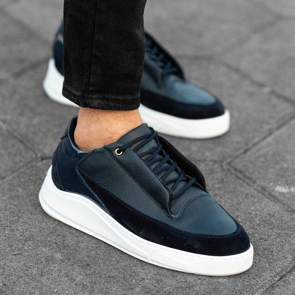 Sport-Casual Sneakers In...