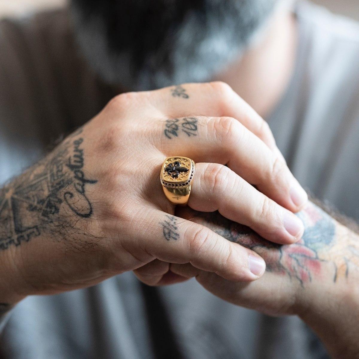 Men's Gold Royal Ring