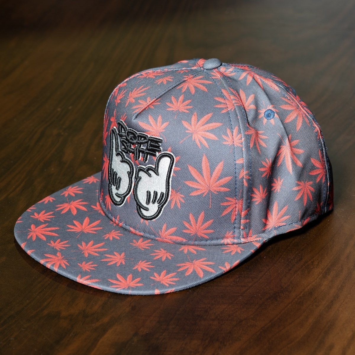 """Dope"" Cap In Gray"