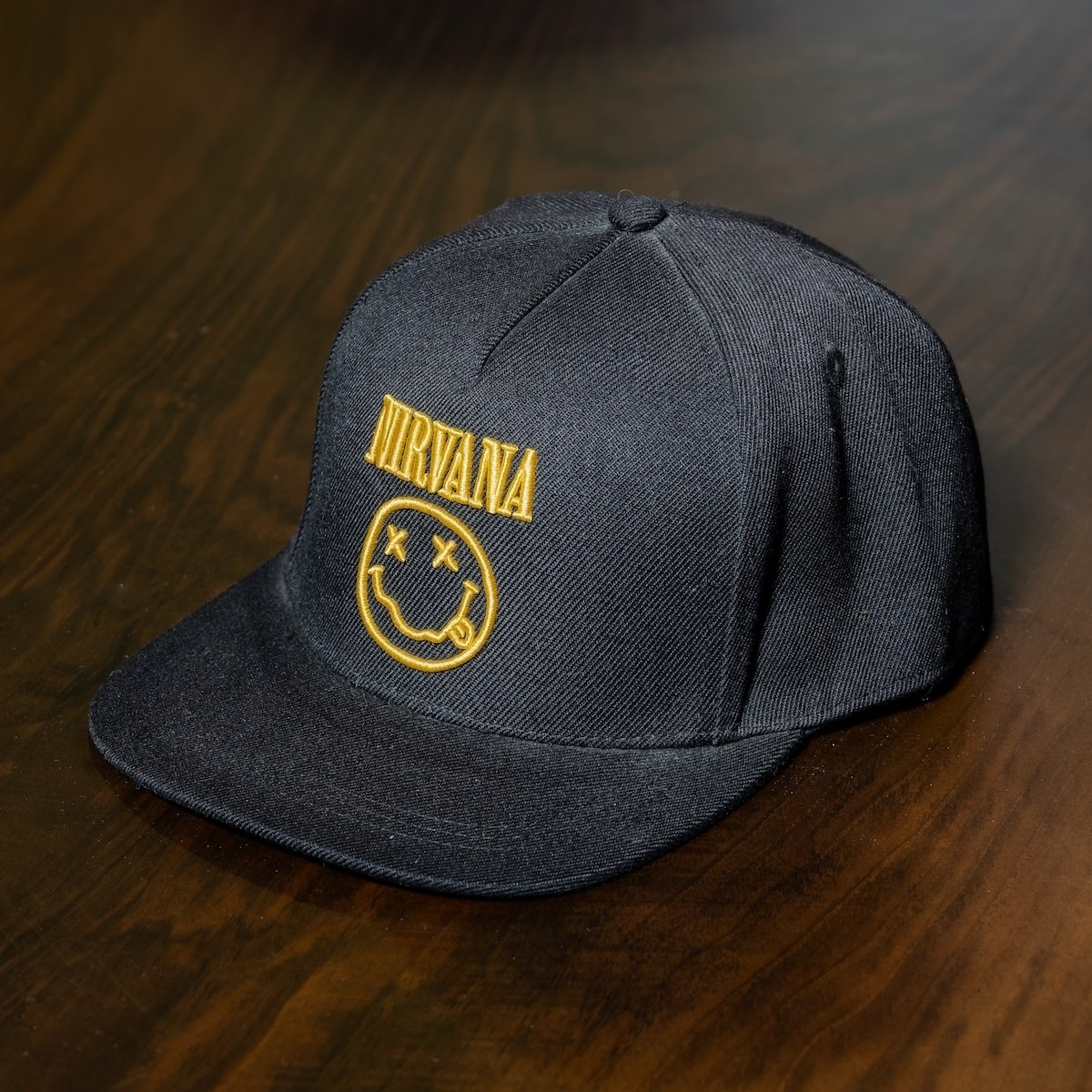 """Nirvana"" Cap In Black"
