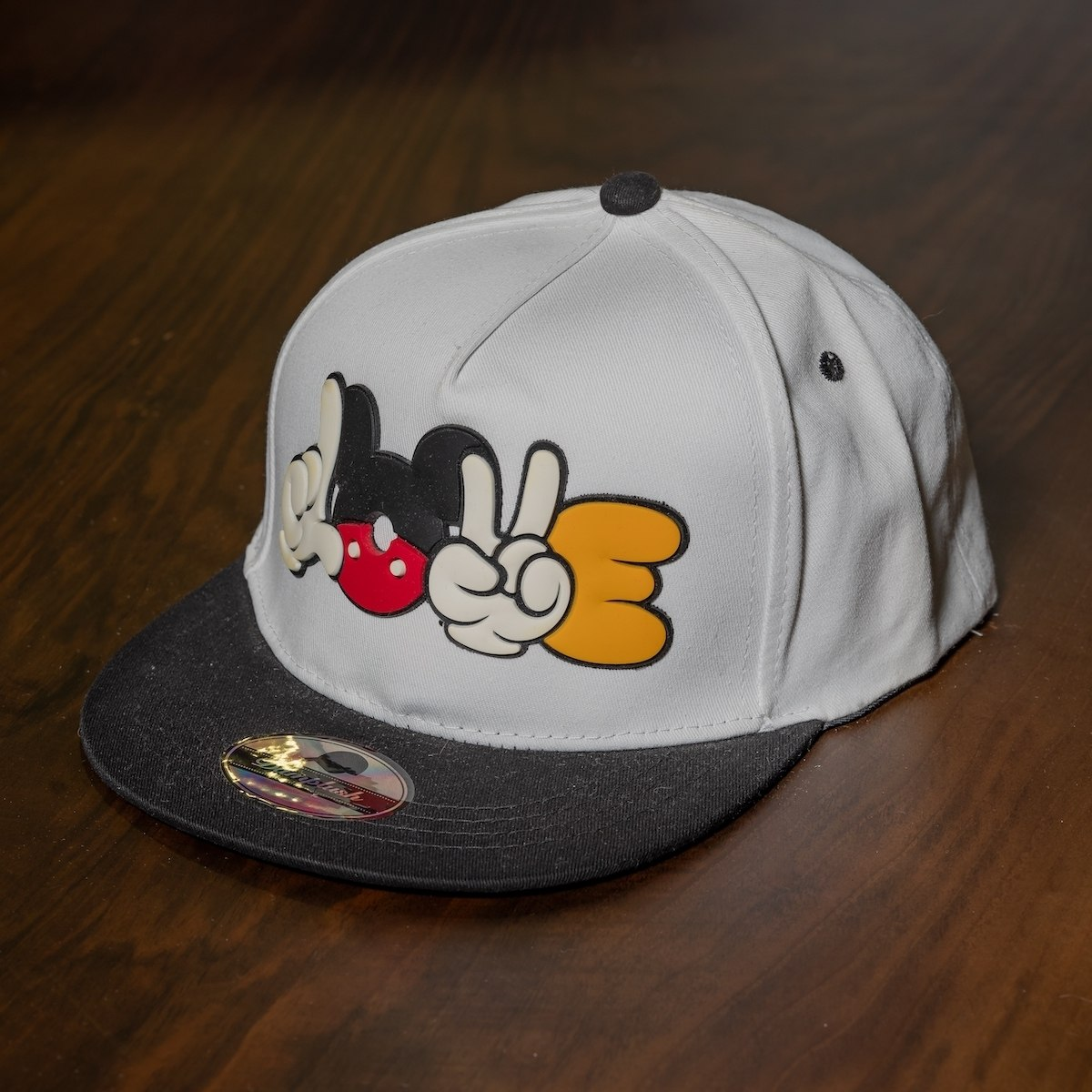 """Poke"" Cap In White"