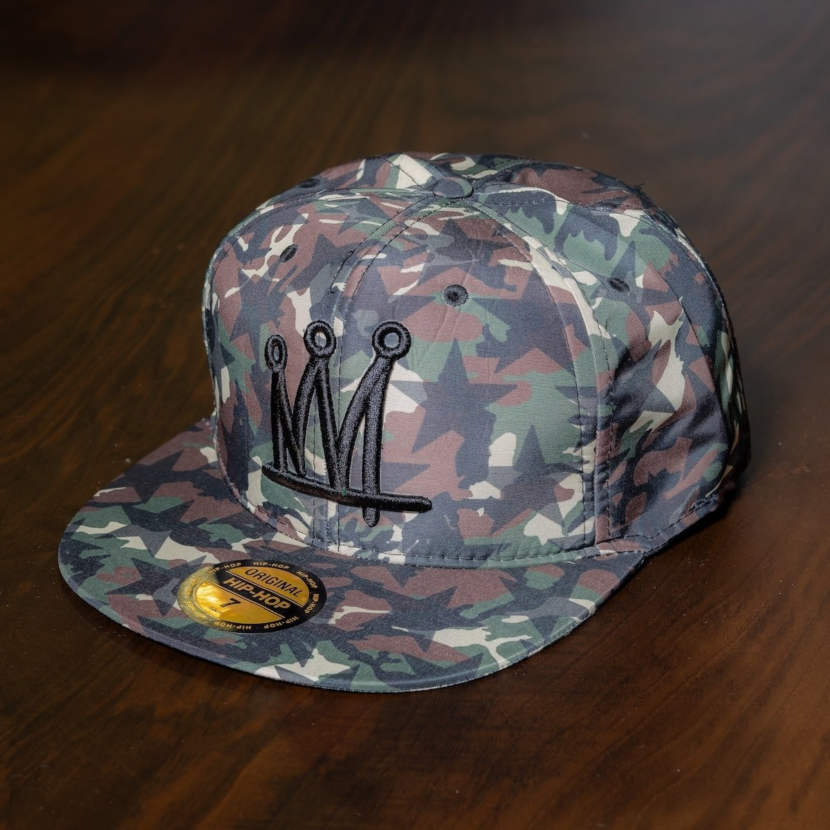 """Crown"" Cap In Camo"