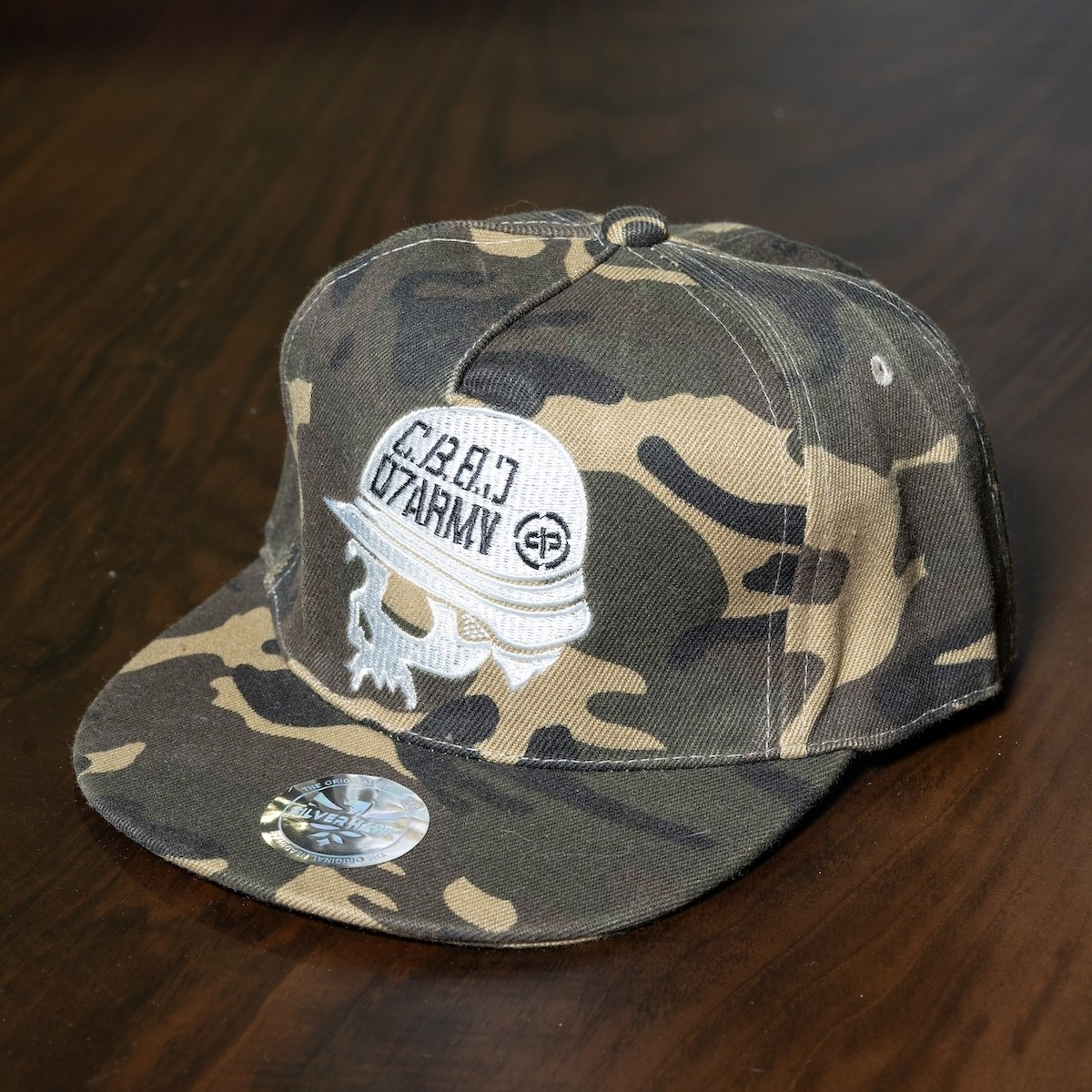 """Army"" Cap In Camo"