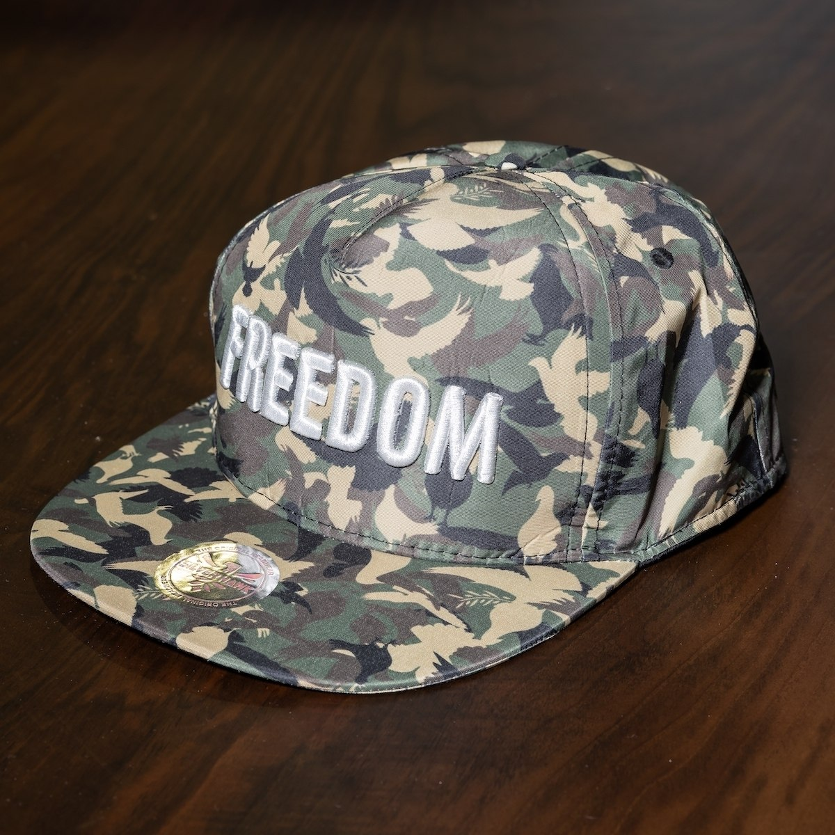 """Freedom"" Cap In Camo"