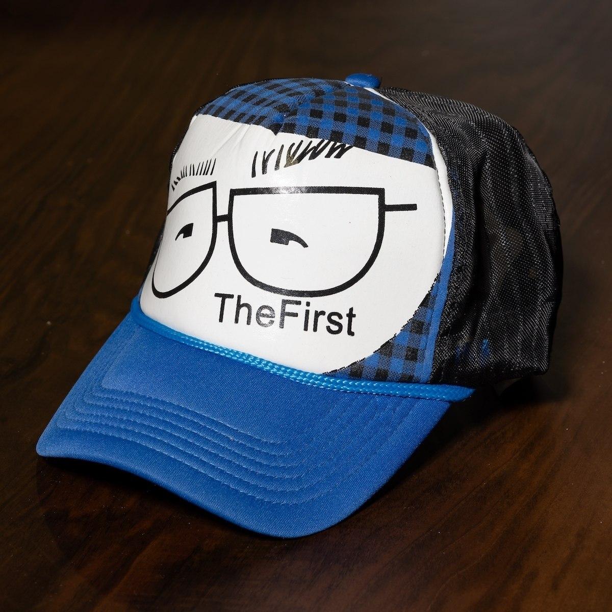 """""""The First"""" Cap In Blue-Black"""