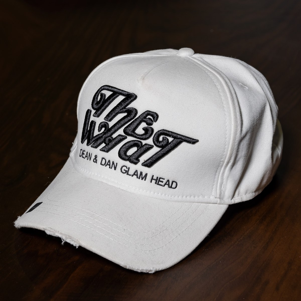 """""""The What"""" Cap In White"""