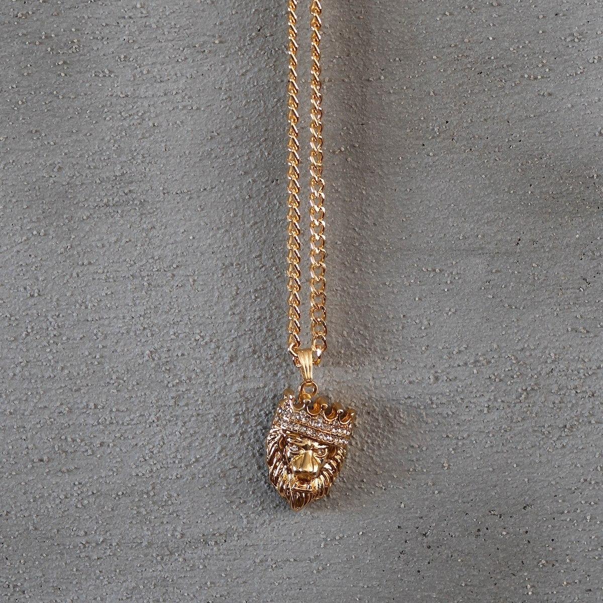 Men's King Leon Necklace Gold