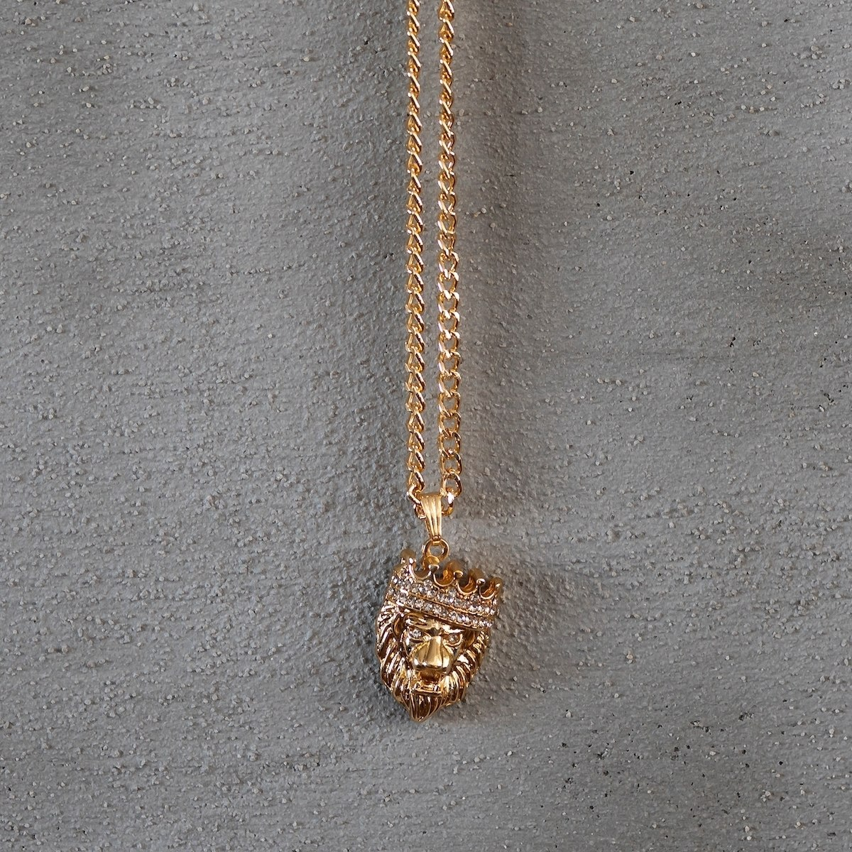 Men's King Leon Necklace Gold