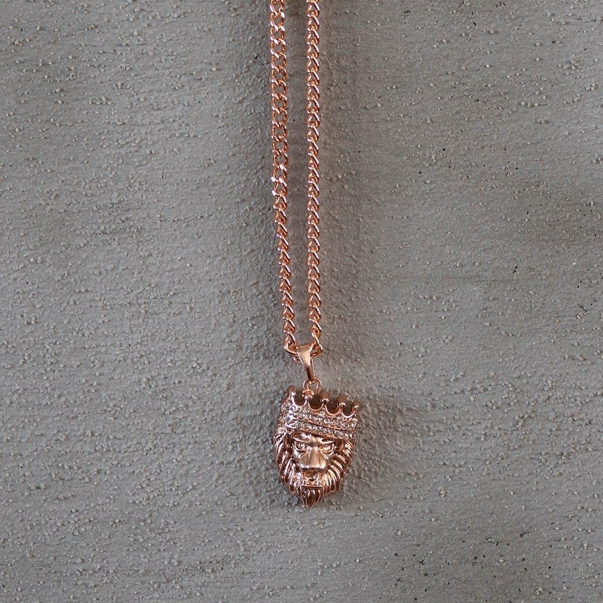 Men's King Leon Necklace Bronze