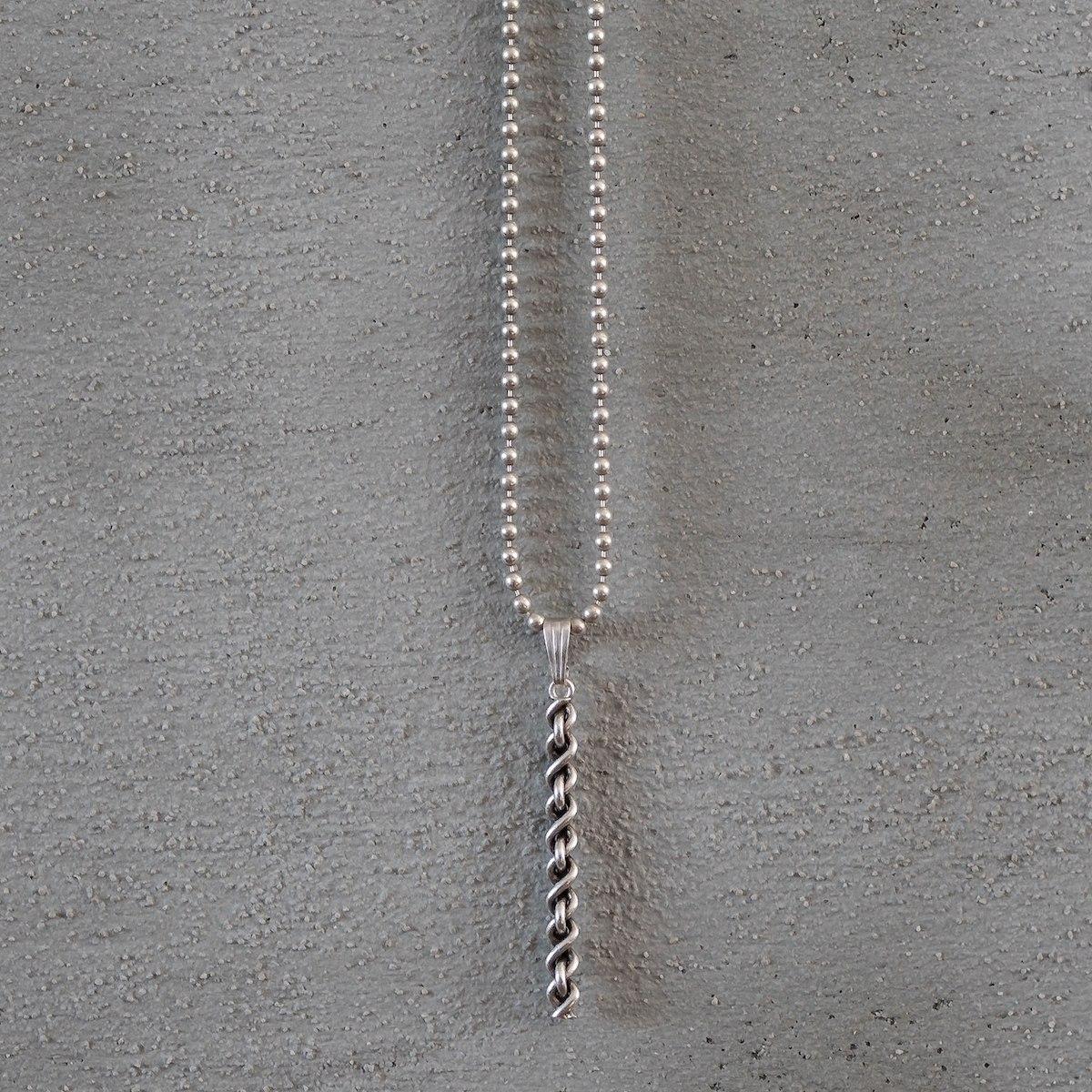 Men's Silver Span Necklace