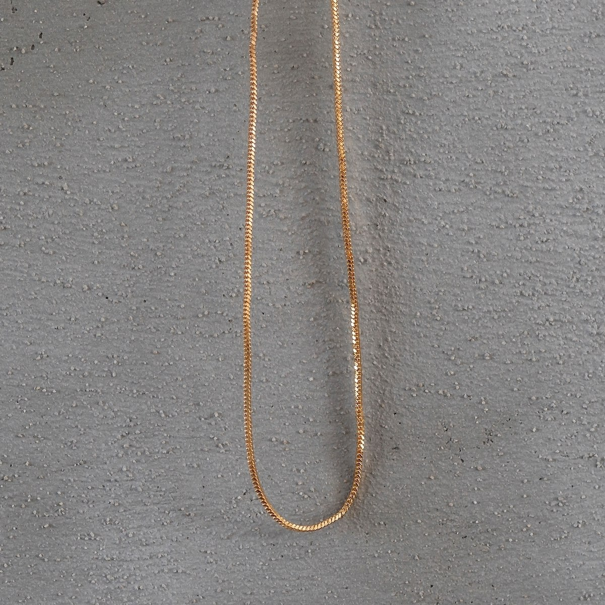 Men's Gold Snake Chain