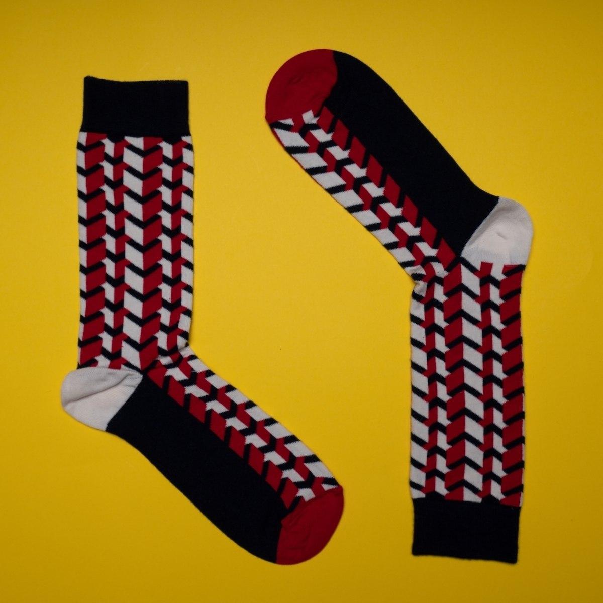 Men's 3D Prism Socks