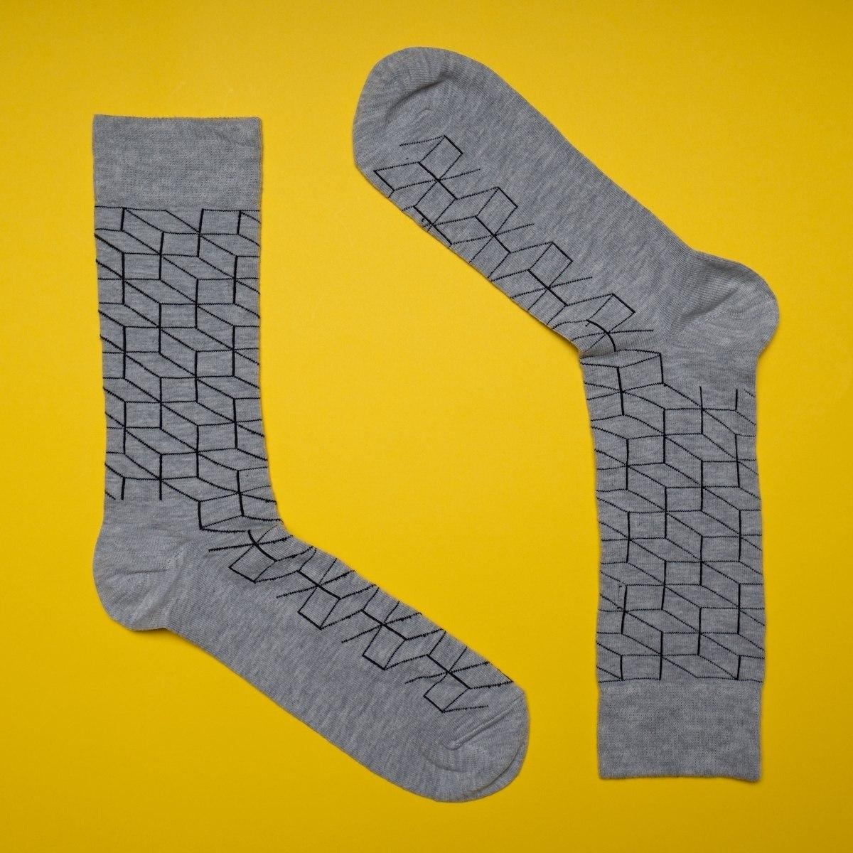 Men's Minimal Prism Socks...