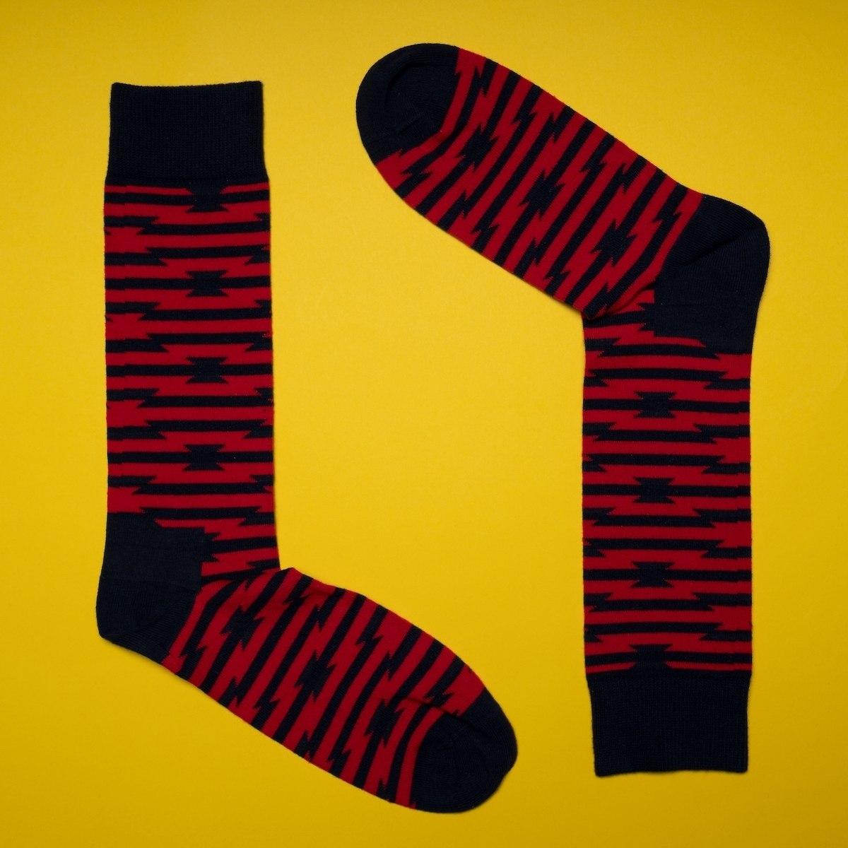 Men's Barbed Wire Socks In...