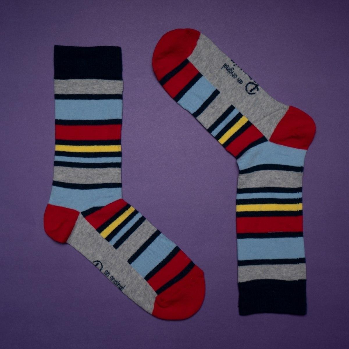 Men's Colorful Stripe Socks