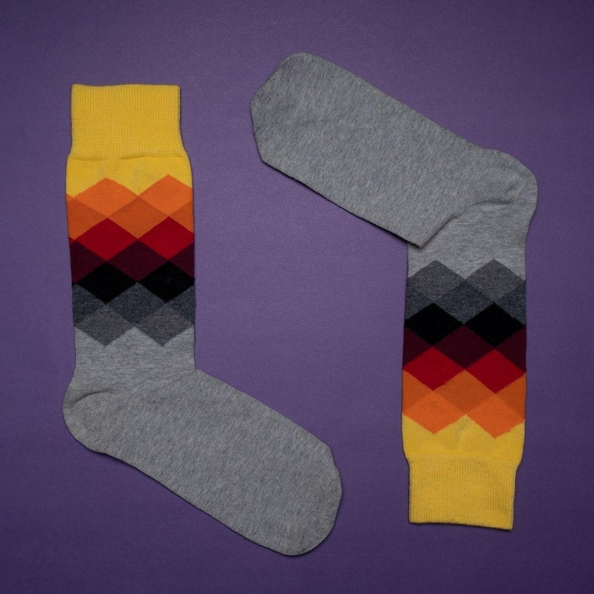 Men's 3D Oxford Socks